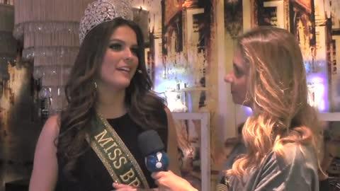 'Tudo acontece com a permiss�o de Deus', sobre o Miss Universo