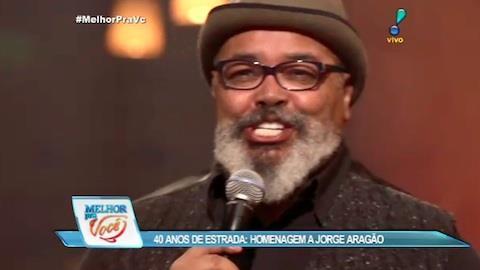 Jorge Aragão estourou na carreira na voz de Elza Soares