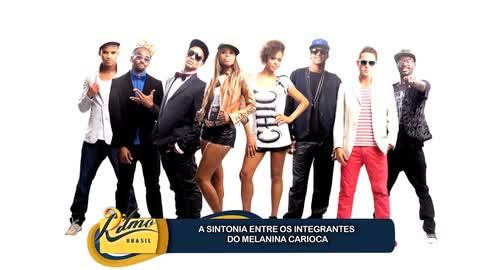 Melanina Carioca fala da sintonia entre os integrantes do grupo