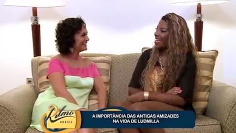 Ludmilla diz que mant�m antigas amizades