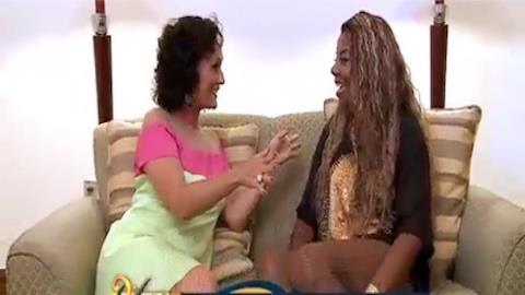Ludmilla fala sobre parceria com cantor Belo: 'Realizei um sonho'