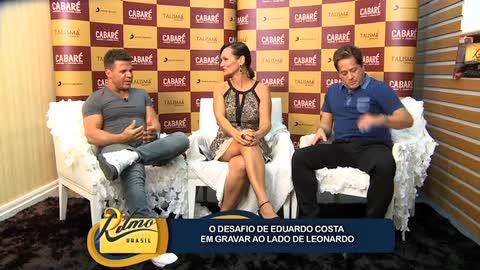 'N�o queria substituir o Leandro' diz Eduardo Costa sobre show com Leonardo