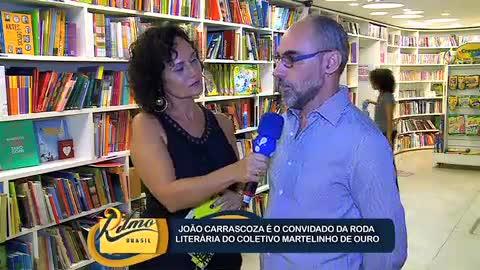 Escritor Jo�o Carrascoza � o primeiro convidado do Martelinho de Ouro