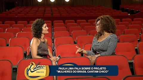 Paula Lima confessa ter conhecido 'lado B' de Chico Buarque recentemente