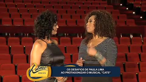 Paula Lima fala dos desafios de fazer um musical