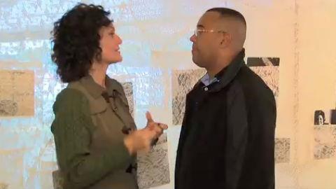 Faa Morena e Dudu Nobre visitam exposi��o em homenagem � Dona Ivone Lara