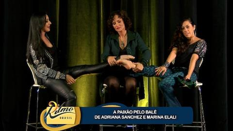 Marina Elali e Adriana Sanchez descobrem semelhan�a: paix�o pelo bal� (5)