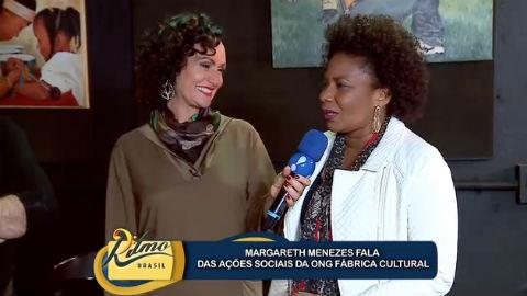 Margareth Menezes conhece o projeto Meninos do Morumbi
