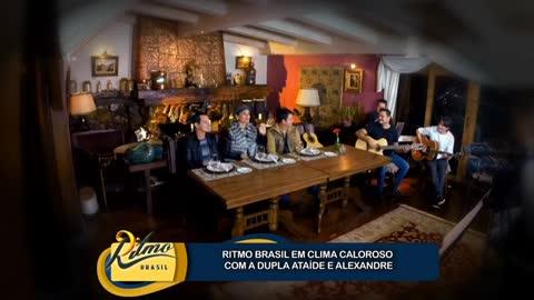 Faa Morena recebe Ata�de & Alexandre em Campos do Jord�o