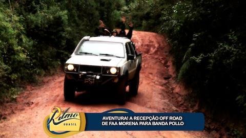Banda Pollo se diverte em trilha off road por Campos do Jord�o