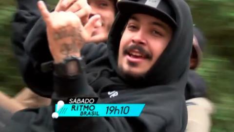 Faa Morena desafia banda Pollo em um off-road em Campos do Jord�o