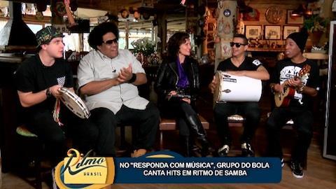 Grupo do Bola canta hits em ritmo de samba