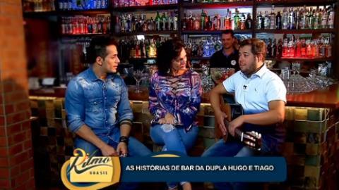 Tiago, da dupla com Hugo, revela que trabalhou em bar antes da m�sica