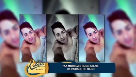 Sertanejo Tiago comenta pol�mica do 'boca de Coringa': 'me senti mal'