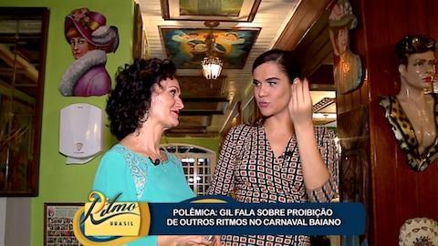 Gilmel�ndia se diz contra apresenta��o de outros ritmos no Carnaval da BA