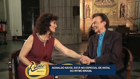 Faa Morena recebe Agnaldo Rayol no Especial de Natal