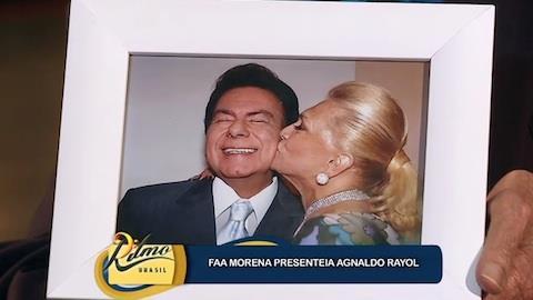 Agnaldo Rayol sobre foto com Hebe: 'Tantas vezes estivemos juntos'
