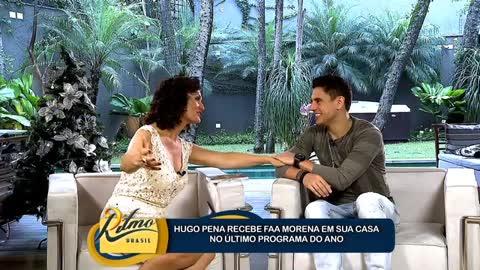 Hugo Pena para Faa Morena: 'Nem nos melhores sonhos eu imaginava voc� aqui'