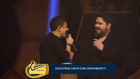 Em novo projeto, Hugo Pena canta com Cesar Menotti e Fernando Zor