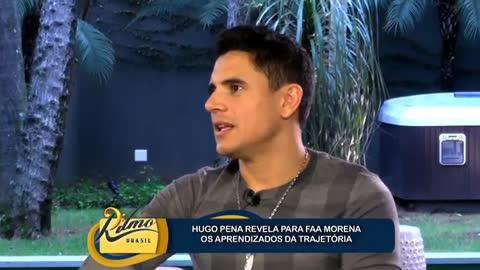 Sobre as dificuldades que passou, Hugo Pena afirma que o fizeram crescer