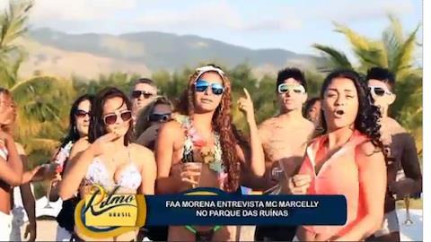 Faa Morena vai ao Rio de Janeiro para bater um papo com Mc Marcelly