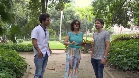 Faa Morena conversa com Bruninho e Davi no Rio de Janeiro