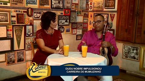 'Cantar samba sempre foi o meu objetivo', diz Dudu Nobre