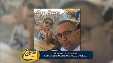 Dudu Nobre se derrete pelo filho: 'ele tem veia art�stica'