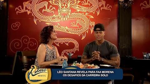 L�o Santana fala das fases solo e 'Parangol�'
