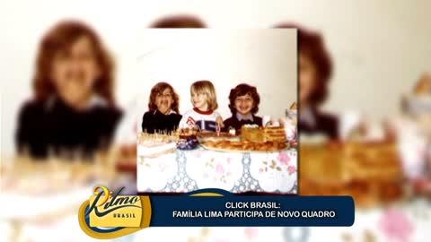 Fam�lia Lima participa de novo quadro do Ritmo Brasil