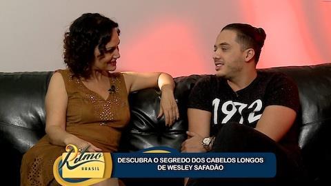 Wesley Safad�o diz que mant�m cabelos longos por promessa de m�e