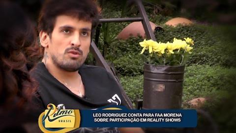 Leo Rodriguez confessa n�o ter se relacionado com ganhadora de reality