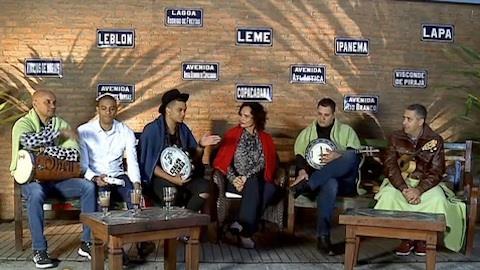 'Ca�ula' do Exaltasamba recebeu conselhos dos 'veteranos'