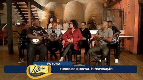 Fundo de Quintal � inspira��o para Katinguel�