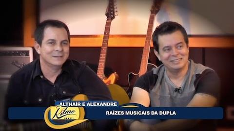 Dupla Altha�r e Alexandre comenta novo trabalho