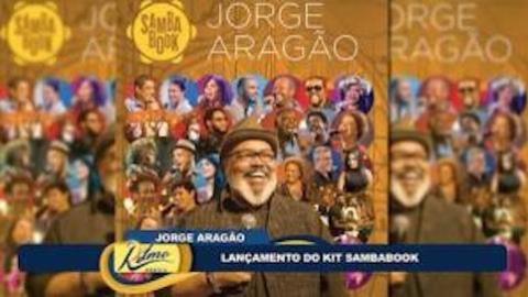 Sambabook: Jorge Arag�o fala do projeto que o homenageia