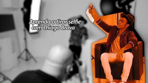 Thiago Brava d� dicas para tirar a selfie perfeita