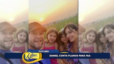 Daniel confessa desejo de ser pai novamente: