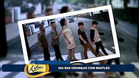 Faa Morena leva dupla infantil à 'Beatlemania Experience'