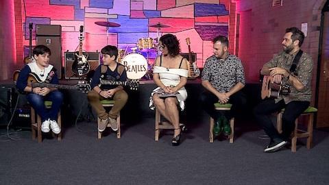 Dia das Crian�as: Gui e Rafa falam da influ�ncia dos Beatles na carreira