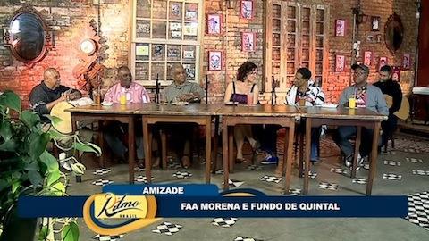 Ritmo Brasil celebra 40 anos do Fundo de Quintal
