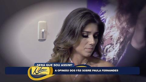 Paula Fernandes rechaça posar nua