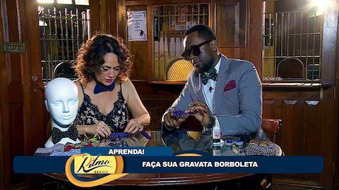 Regis Paulino, do Serial Funkers, faz gravata com Faa Morena