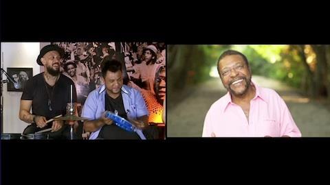 Sambô solta a voz e relembra música de Martinho da Vila