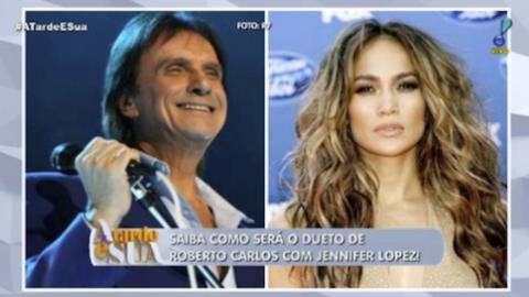 Roberto Carlos vai gravar clipe com Jennifer Lopez