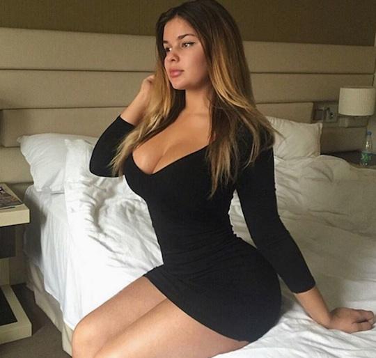 Anastasiya- Kvitko-modelo-russa-musa-da-copa-da-rússia-2018-vestido-preto-FuteRock