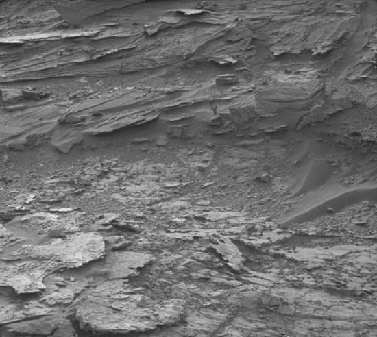 Nasa flagra de mulher em Marte