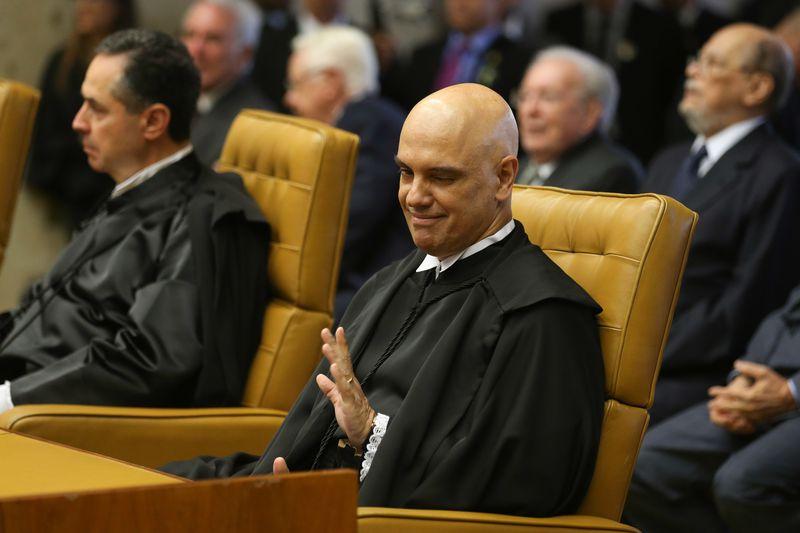 No STF, Moraes barra volta de presos a seus Estados de origem