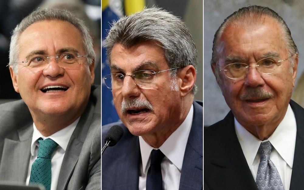 PF diz que Renan, Jucá e Sarney não obstruíram a Lava Jato