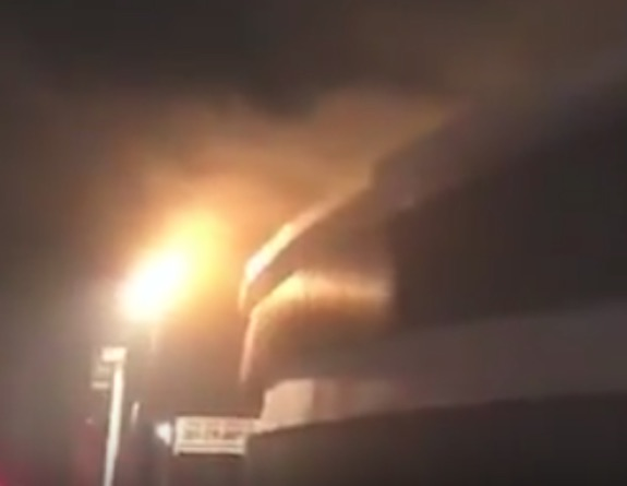 Balões causaram incêndio no velódromo do RJ